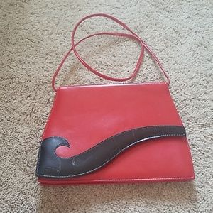 Red Wave Hanbag/Purse